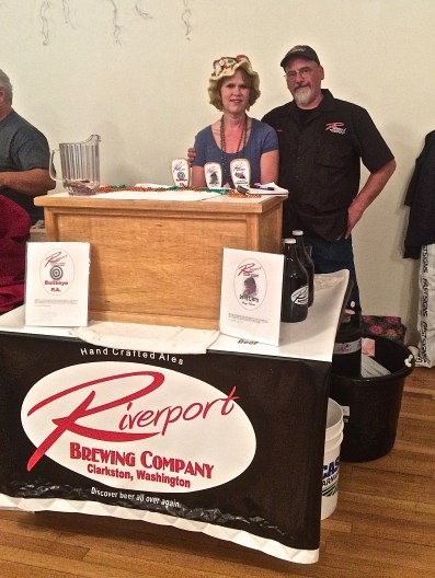 Riverport Brewing Co., from Clarkston, Washington was present for the Waitsburg Celebration.