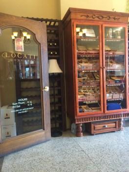Locati Cellars cigar humidor.