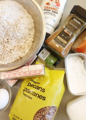 ingredients-for-cappuccino-caramel-oat-bars