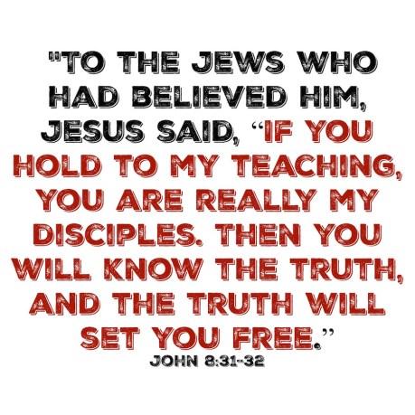 John 831-32
