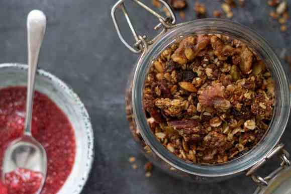 Easy Stir and Bake Gluten Free and Vegan Granola