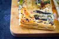 Easy Vegan Asparagus Tart