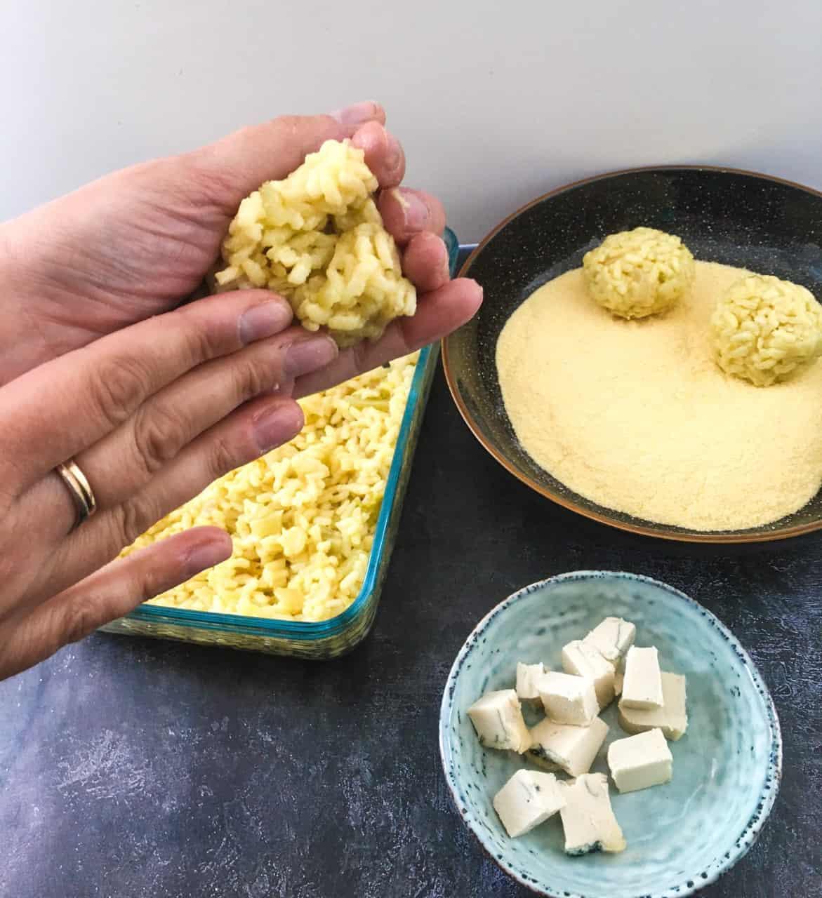 How to Make Vegan Arancini