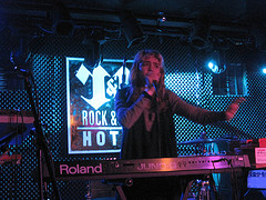 Grimes live at the Rock & Roll Hotel, Washingt...