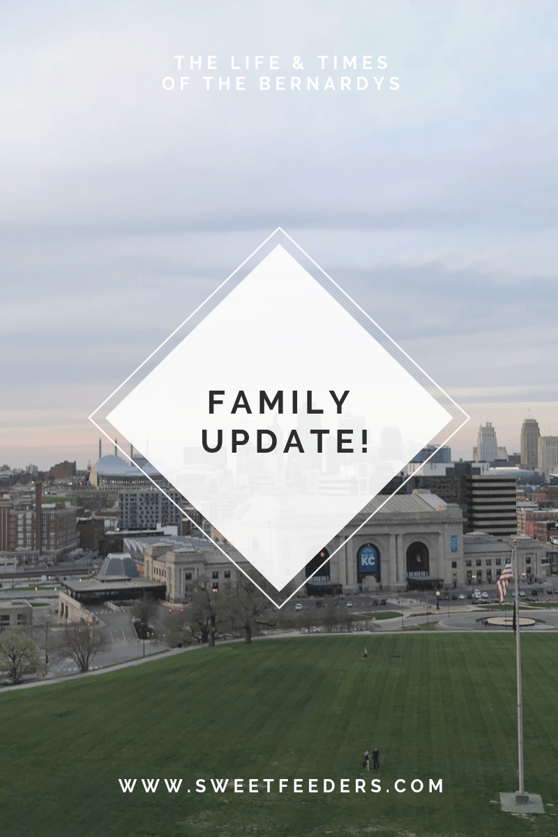 Bernardy Family Update