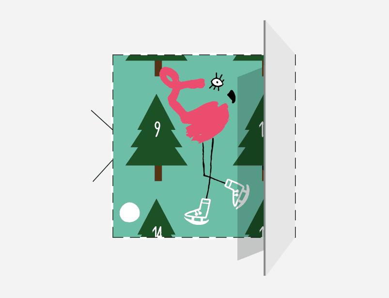 Le calendrier de l'Avent du Sweet Flamingo !