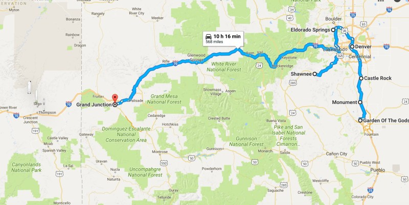Colorado – Sweet FootJourneys