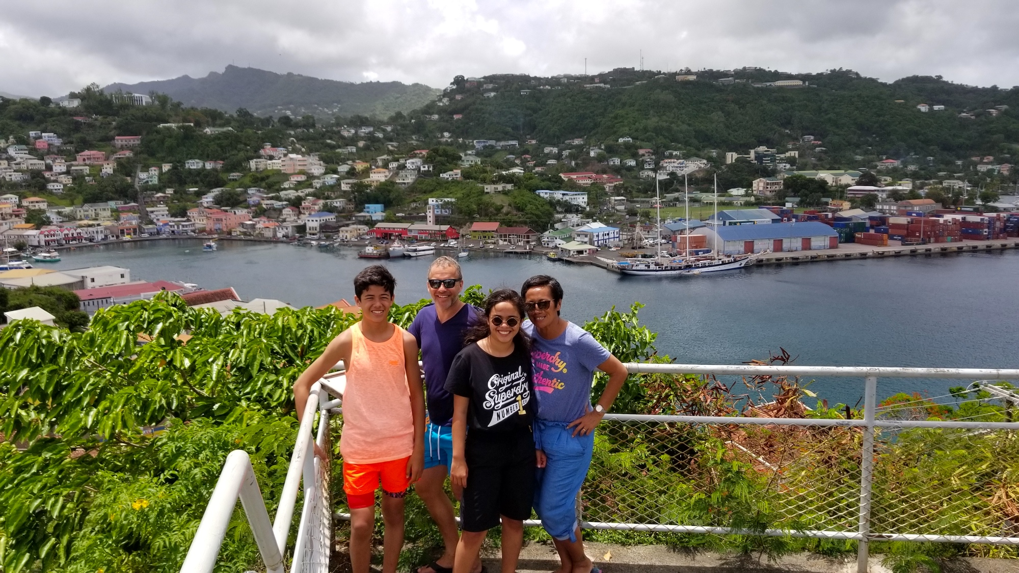 City and Fort Tour Grenada