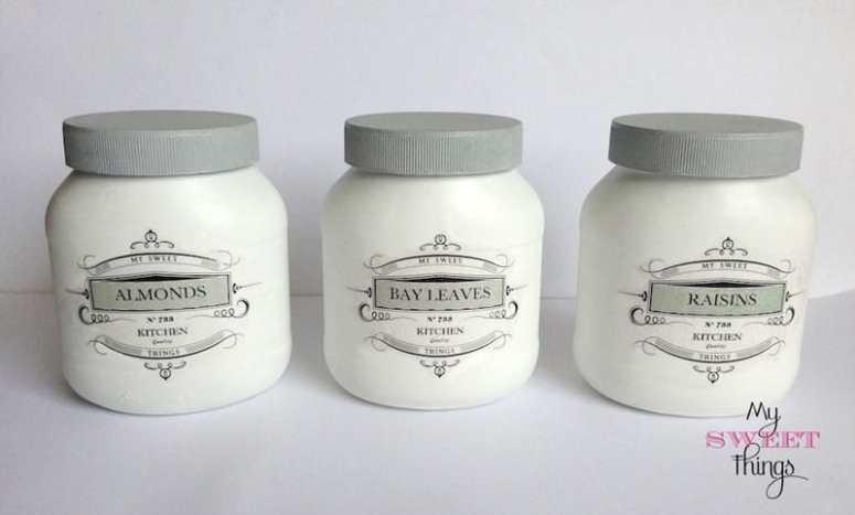 Glass Jars / Pantry Storage Jars / mysweethings.net