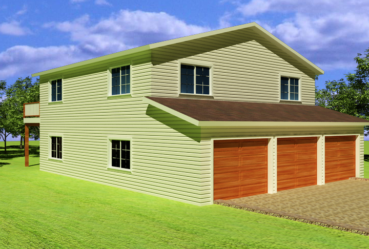 3 Amazing Apartment Over Garage Plans
