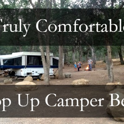 pop up camper beds