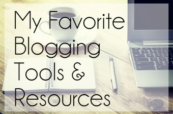 my favorite blogging tools