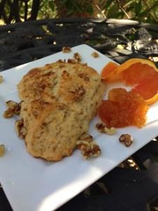 Apricot Pecan Scone