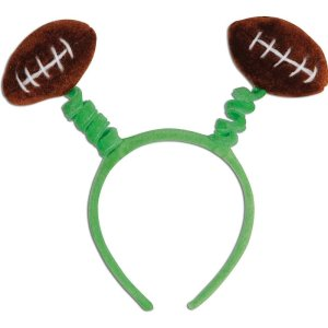 Football Bobber Head band