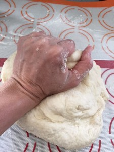 Kneading Puff Pastry Dough