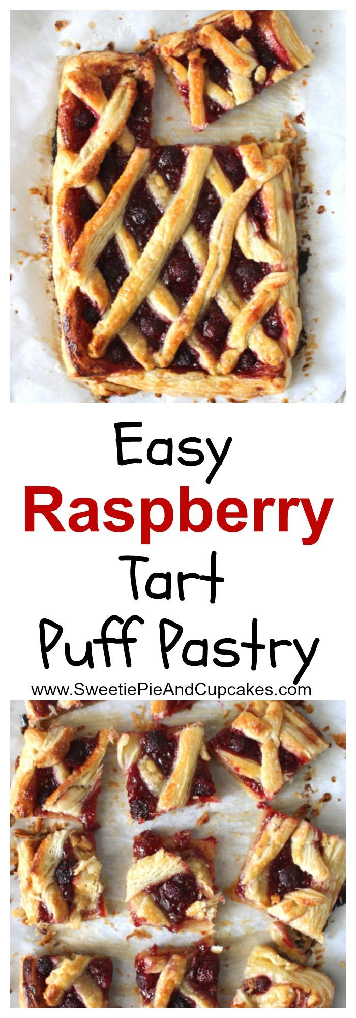 Raspberry Tart Puff Pastry Pin