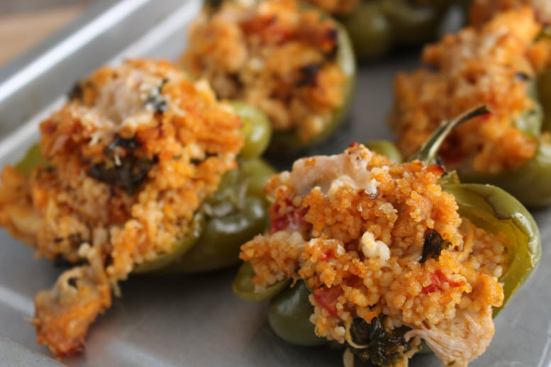 Stuffed Bell Peppers with Cous Cous