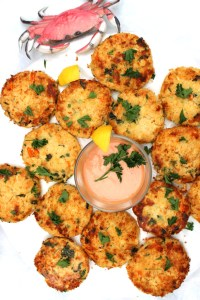 Crab Cakes Recipe at Sweetie Pie and Cupcakes