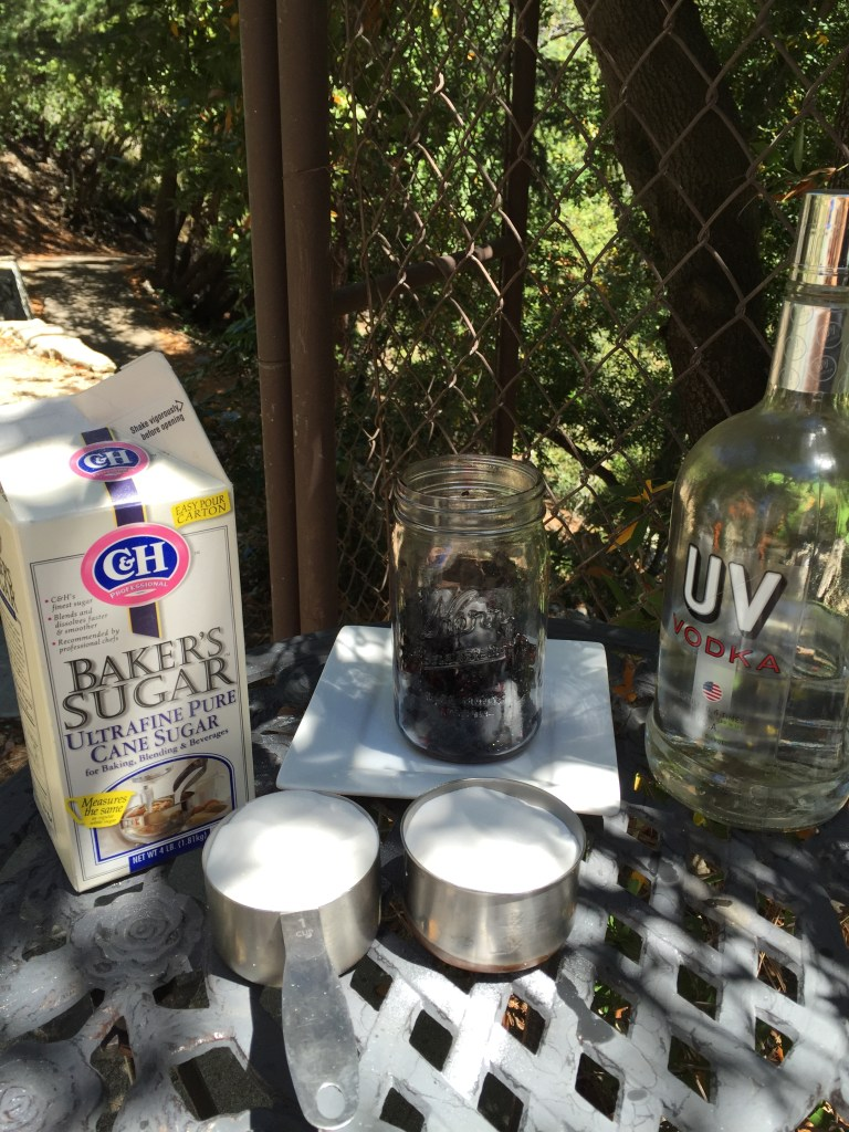 Blackberry Liquor Ingredients