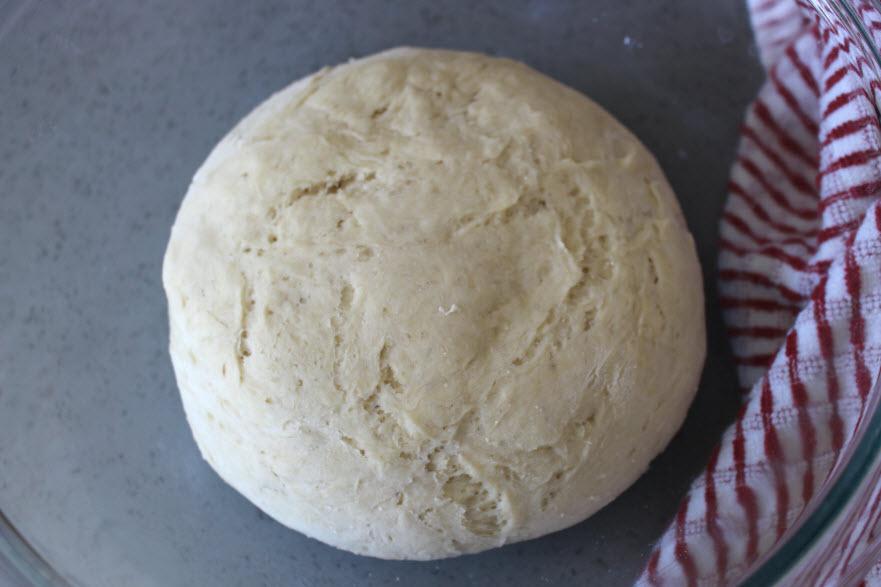 Pretzel Dough Rising