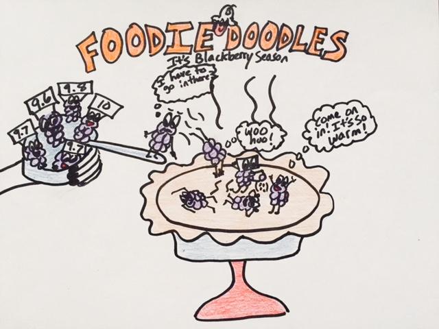 Blackberry Foodie Doodle
