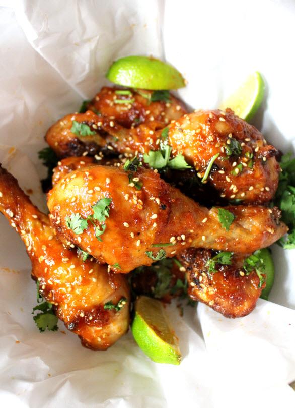 Firecracker Chicken Wings Recipe