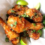 Firecracker Chicken Wings at Sweetie Pie and Cupcakes