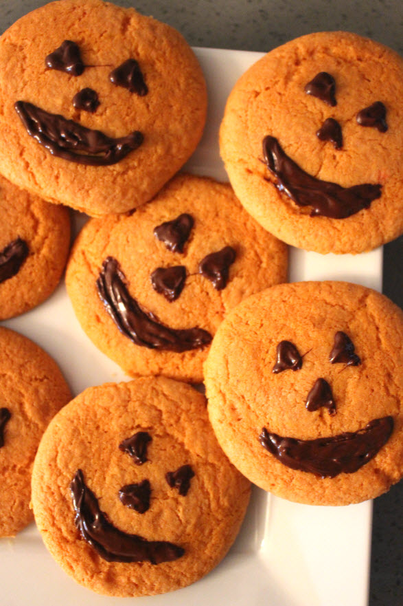 pumpkin cookies recipe at Sweetie Pie and Cupcakes