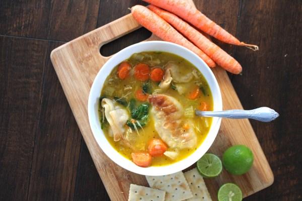 best homemade potsticker soup