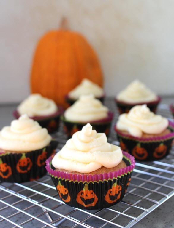 pumpkin cupcakes recipe