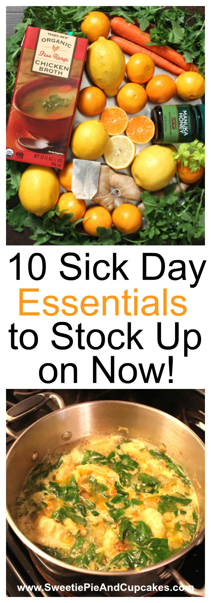 Sick day essentials to stock up on now
