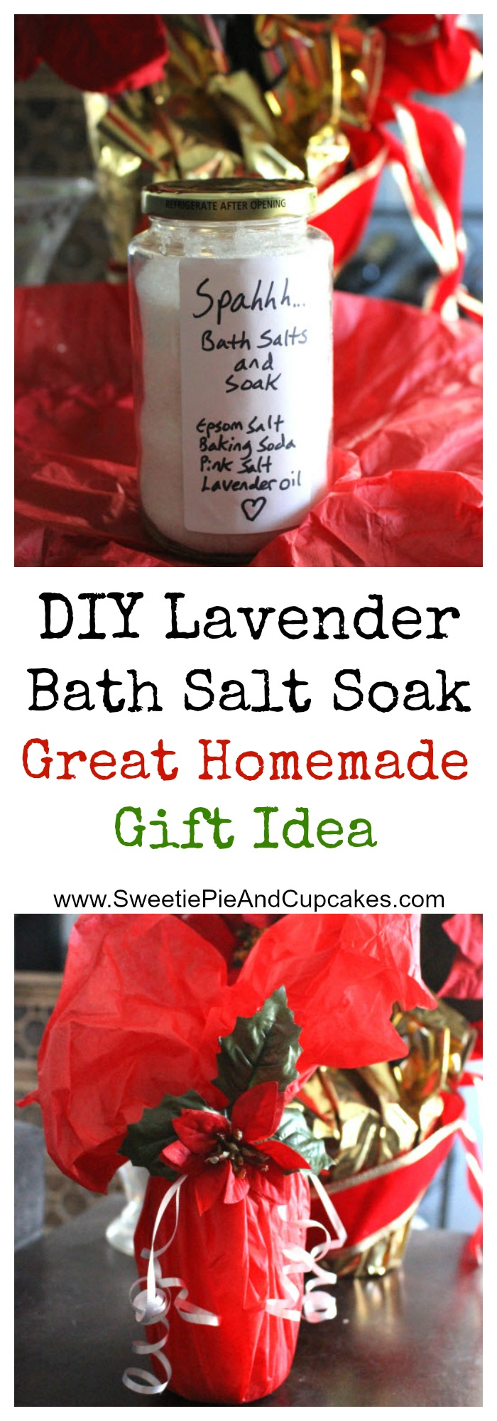 DIY Bath Salt Soak