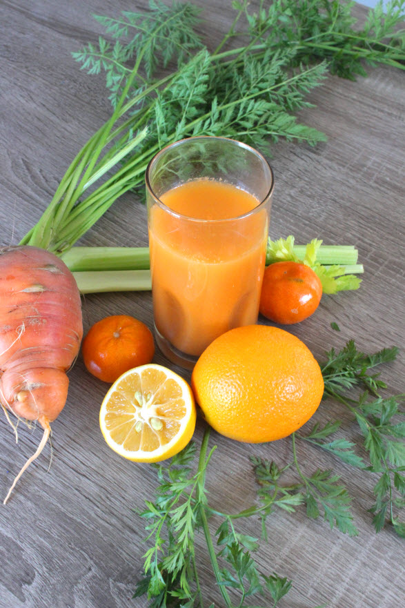 3 Day Carrot Orange Juice Detox