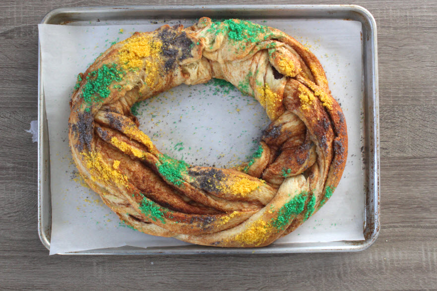 Homemade King Cake