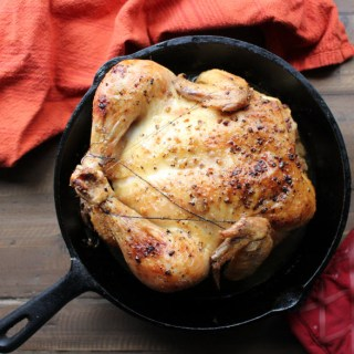 Easy Skillet Roasted Chicken