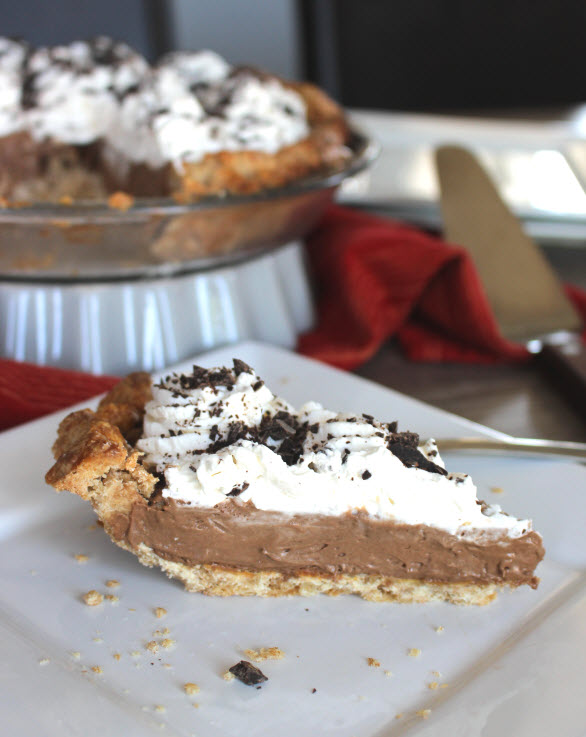 French Silk Chocolate Cream Pie