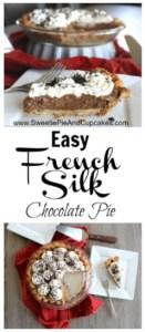Easy French Silk Chocolate Pie