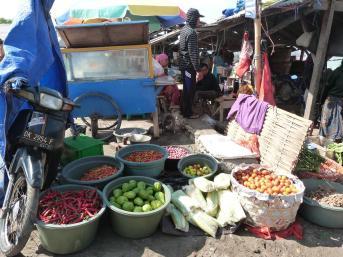 Vendeurs sur la plage