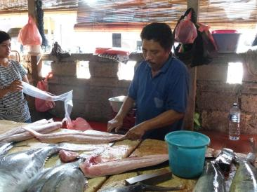 Vendeur de poissons