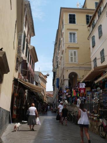 ruelles de Corfu town