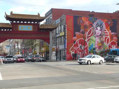 Street art Quartier chinous