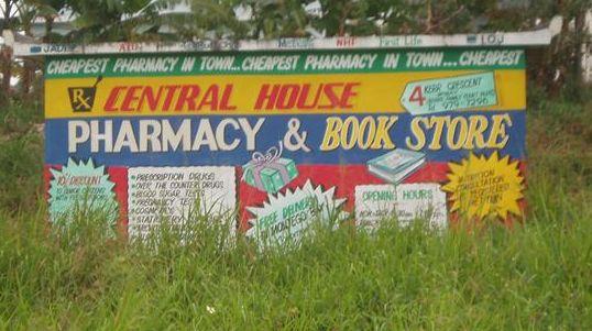Pharmacy Bus Shelter Jamaica