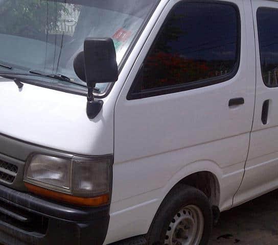 Jamaica Hiace Bus