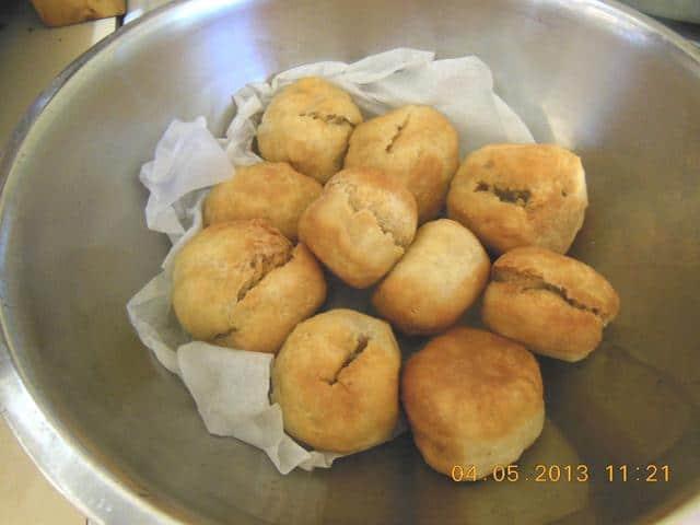 Jamaican food - Fried Dumplings Ready to serve