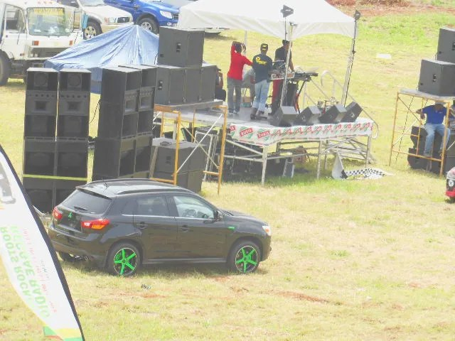 Compere and DJ Stand Dover Raceway