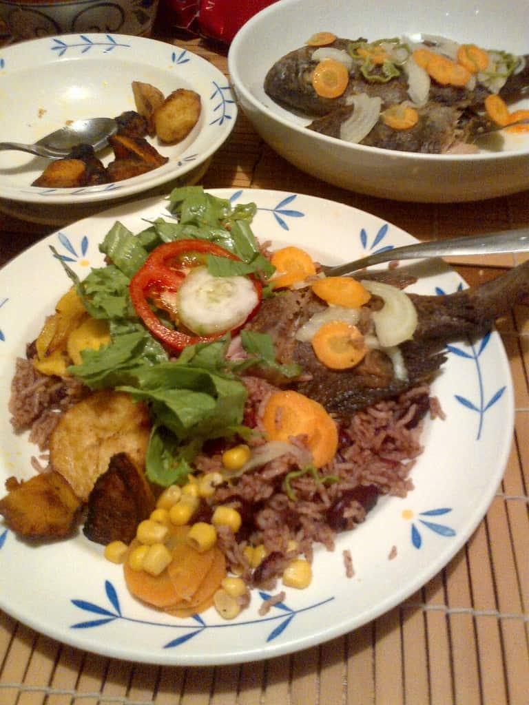 Jamaican Escovitch Fried Fish