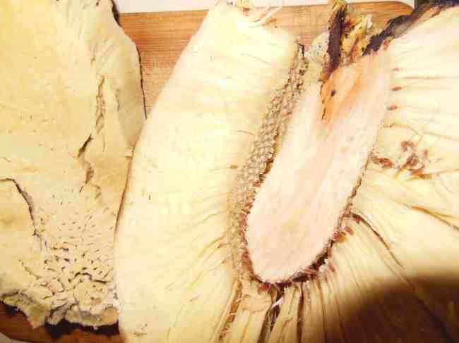 Remove the Breadfruit Heart