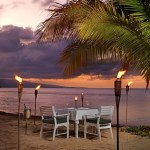 Jamaica Inn Dining on the Beach