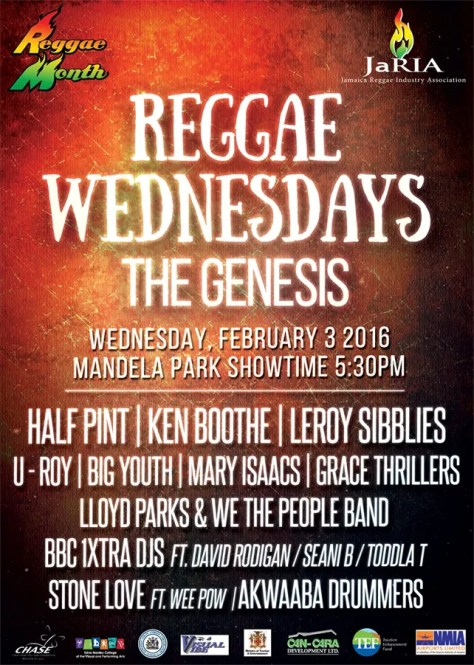 reggae wednesday banner