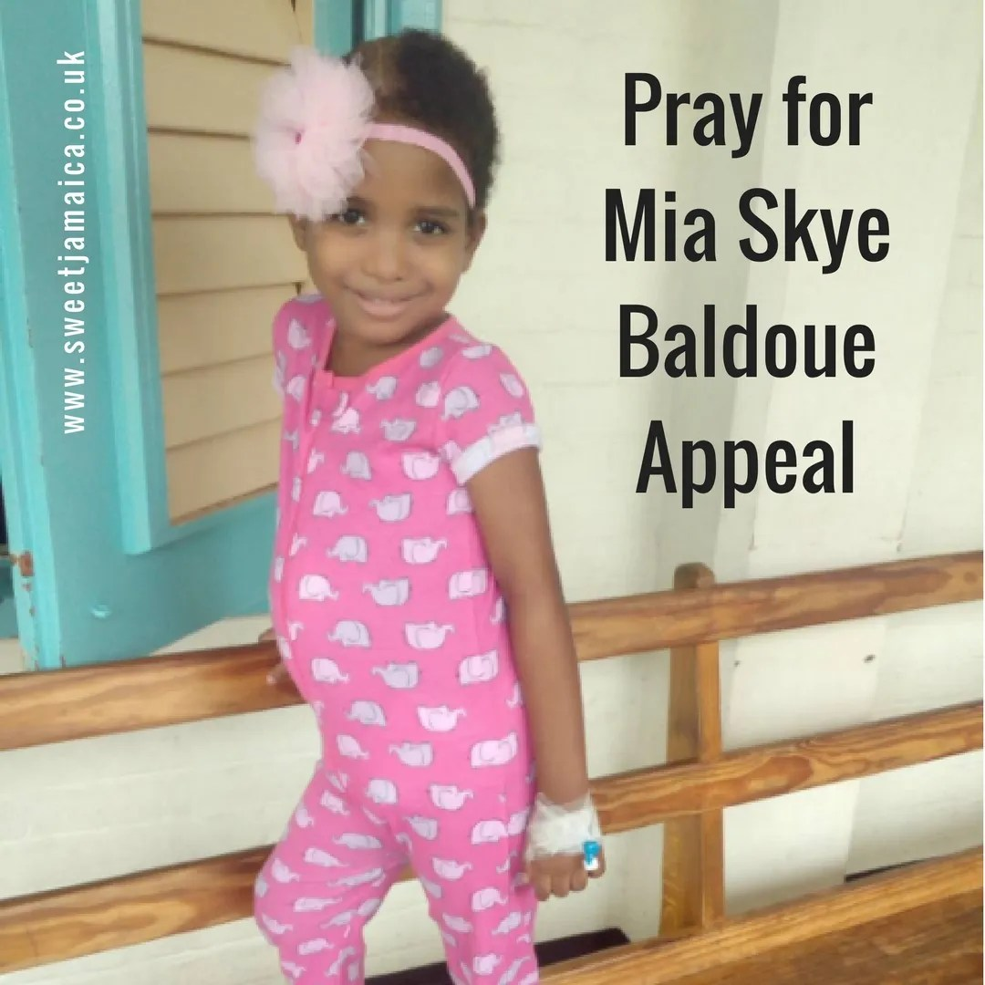 Pray for Mia Skye Baldoue Appeal